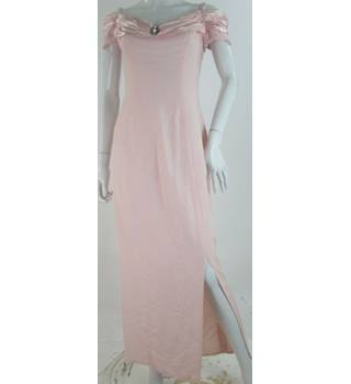 VINTAGE - Alfred Angelo - Size: 14 - Pink - Evening dress