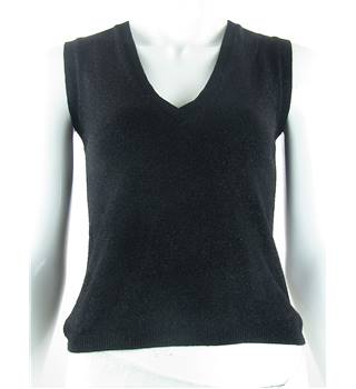 French Connection - Size: 10 - Black - Sleeveless top