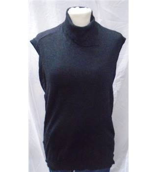 All Saints Size: S  Black sleeveless top