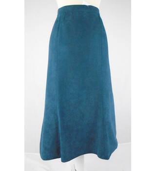 Debenhams - Size: 10 - Teal Blue - Skirt