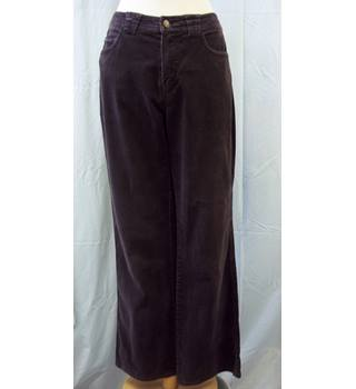 Per Una - Size: 12 - Brown Cord - Trousers