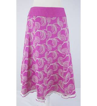 Monsoon - Size: 8 - Pink - Skirt