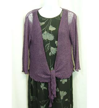 Kaliko - Size: One size: regular - Purple - Shrug