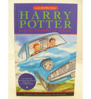 Harry Potter and the Chamber of Secrets - SIGNED BY ILLUSTRATOR
