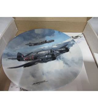 Coalport Baeufighter plate in original box
