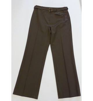 CC Country Casuals Size 10 Dark Green Stretch Trouser