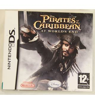 Pirates of the Caribbean at worlds end- Nintendo DS