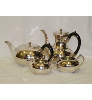 Vintage Cooper Brothers Bros Electro Silver Plate Plated Tea Coffee Service Set