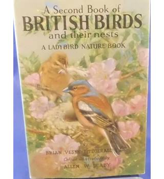 A Second Book of British Birds and Their Nests - Ladybird Book