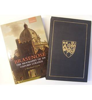 Brasenose: The Biography of an Oxford College - First edition in slipcase