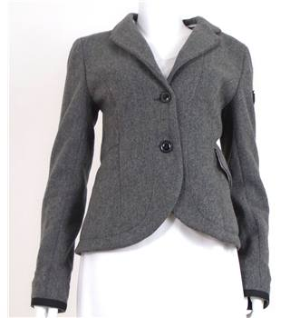 "Superdry Tailoring Size M Grey ""Hunting Hood"" Smart Blazer"