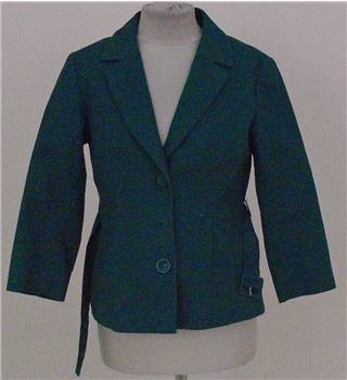 H&M  size: 10 green  smart jacket
