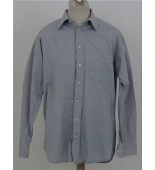 "Jaeger Size: 15.5"" collar Grey long sleeved shirt"