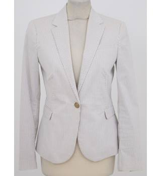 Zara - Size: S - Ivory - Stripped Jacket