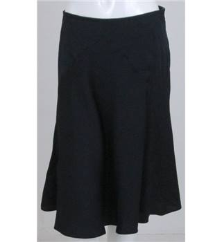 Shwopped by Felicity Kendal: Giorgio Armani size: 8 navy blue silk skirt