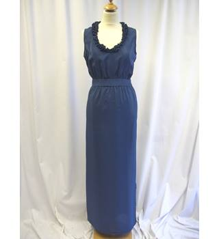 Unbranded Vintage - Size: S - Teal Blue - Long Dress