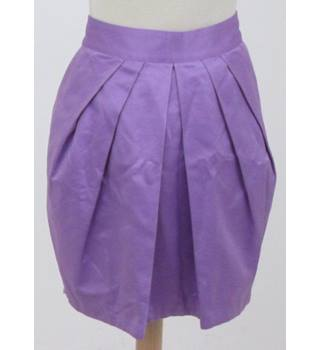 NWOT Limited Collection Size: 18 - Light Purple - Mini  tulip skirt