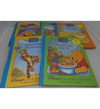 Disney's Out & about With Pooh - 19 volumes - A Grow and Learn Library