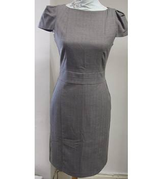 BNWT Warehouse Grey Scoop-neck, cap-sleeve dress Warehouse - Grey - Knee length dress