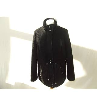 Red Herring Black Coat Size 10 Smart and Good Quality Red Herring - Size: 10 - Black - Casual jacket / coat