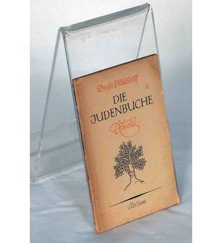Die Judenbuche by Drofte Hulshoff    German edition.