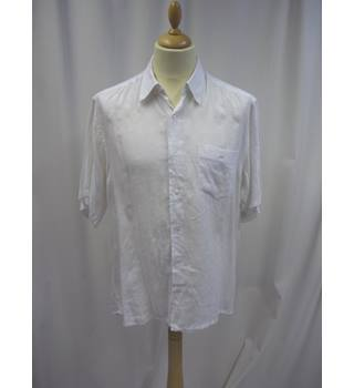 Di Laurentis - Size: One size: regular - White - Short sleeved Shirt