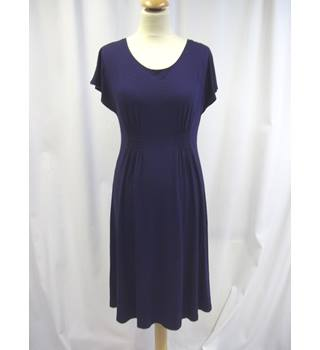 Agnes B - Size: M - Navy Blue - Knee length dress