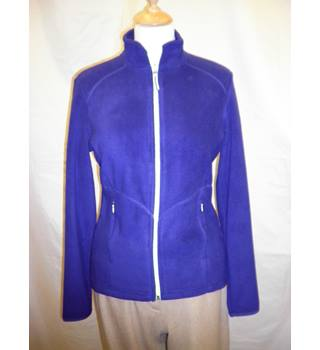 M & S fleece - blue M&S Marks & Spencer - Size: 8 - Blue - Tracksuit top