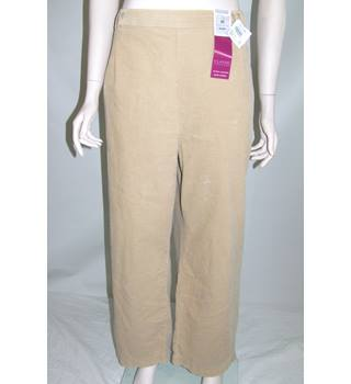"M&S Marks & Spencer - Size: 40"" - Beige - Trousers"