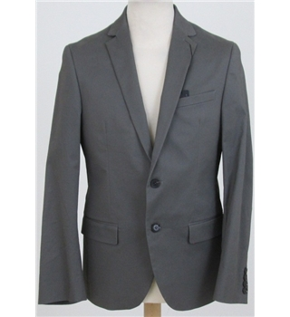 "NWOT Autograph size: 38"" mocha single breasted suit jacket"