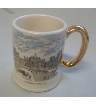 Vintage Susan Clough Designs Small Mug