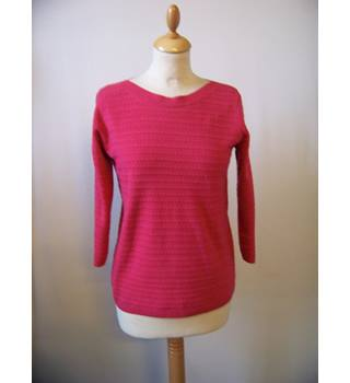 Indigo Collection at M&S Marks & Spencer - Size: 12 - Pink - Sweater
