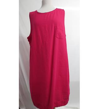 M & S collection Dress Size 22 M&S Marks & Spencer - Size: 22 - Red - Smock