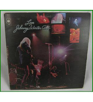 Live Johnny Winter And ‎ - 64289