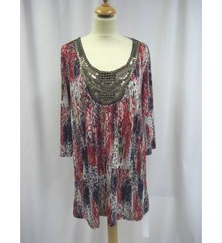 Changes by Together - Size: 16 - Multi-coloured - Tunic Top