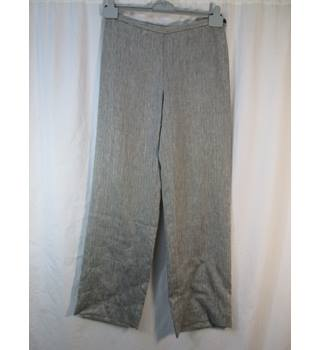"Paul Costelloe - Size: 27"" - Grey - Linen trousers"