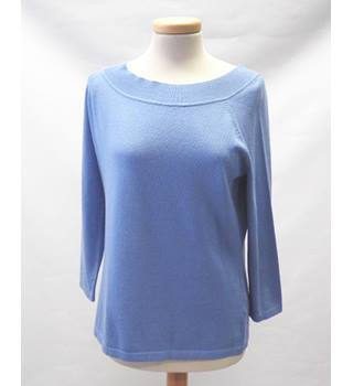 John Lewis Size 14 Blue Sweater