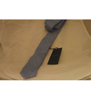 Ted Baker - Size: One size - Blue/white - Tie
