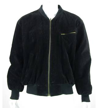 Unbranded - Size: XXL - Black - Real Leather/Suede jacket