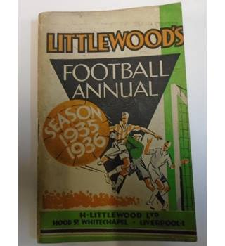 LITTLEWOODS FOOTBALL ANNUAL SEASON 1935-1936