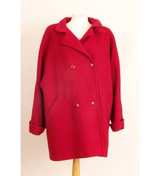 St Michael - Size: 16 - Red - Casual jacket / coat