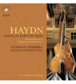 HAYDN: COMPLETE BARYTON TRIOS (21 CD) Box set- Esterhazy Ensemble