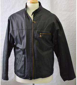 Academy leather jacket size L