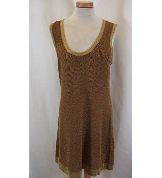 BIBA - Size: 16 - Brown - Sleeveless Dress