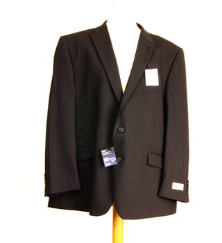 BNWOT M&S Marks & Spencer - Size: XXXL - Blue - Double breasted suit