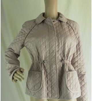Hobbs padded pink casual jacket- size 12 Hobbs - Size: 12 - Pink - Smart jacket / coat