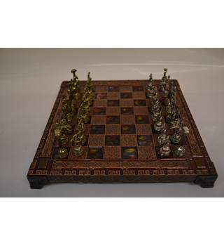 Greek Chess Set with Figures