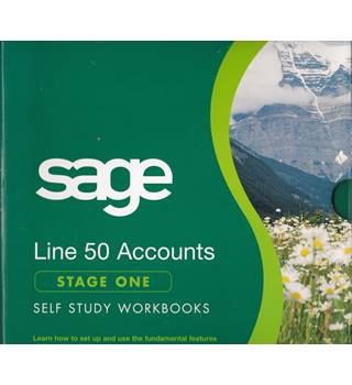 Sage Line 50 Accounts Stage One Self Study Workbooks