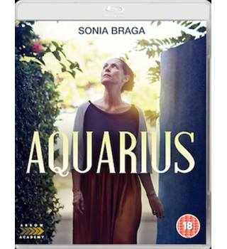 AQUARIUS (18) Blu-Ray New & Sealed