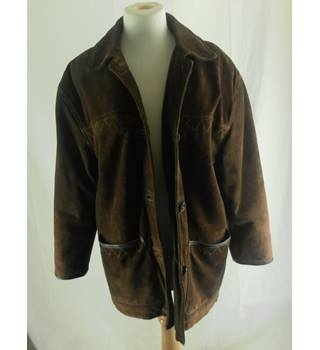 Vintage Gavin Brown Suede Leather Jacket